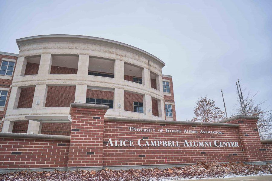 The Alice Campbell Alumni Center is being turned into a museum and welcome center in Fall 2017. The building is located at 601 S Lincoln Ave in Urbana.
