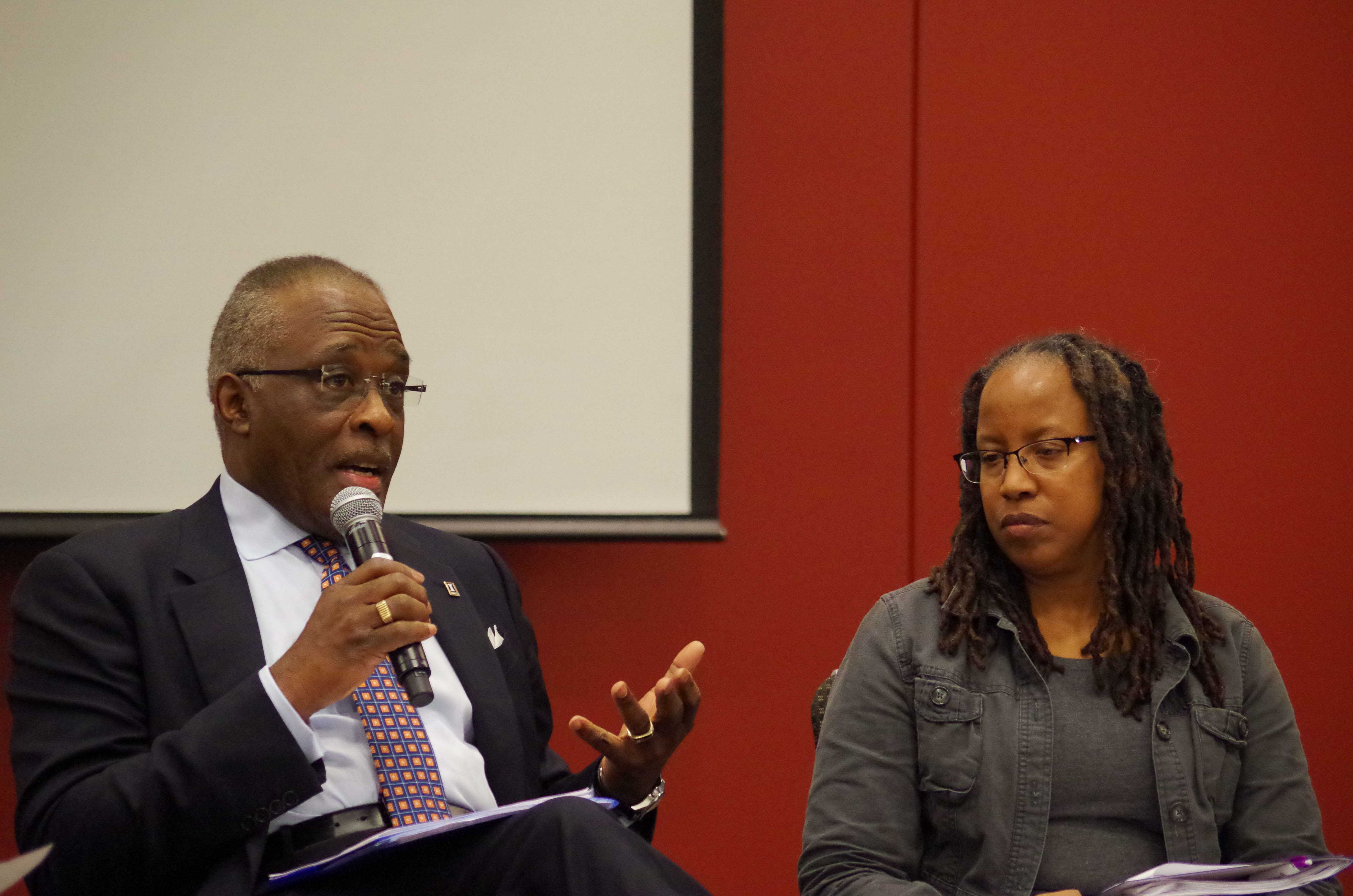 Chancellor Robert J. Jones along with other University Administrators are being active about informing students of President Donald Trump's executive orders.
