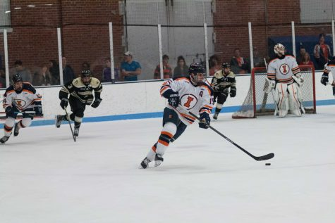 Heflin's big weekend leads Illinois hockey to sweep
