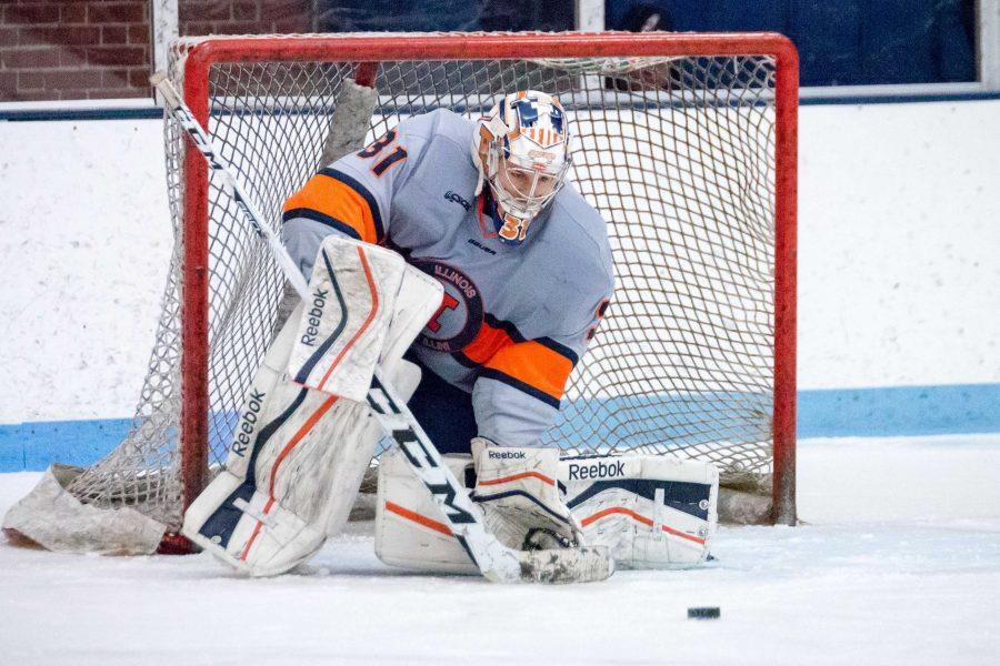 Illini+won+4-3+in+a+shootout+with+a+goal+from+Cruickshank+on+Jan.+22.+Illinois+is+taking+part+in+a+feasibility+study+from+the+National+Hockey+League.+