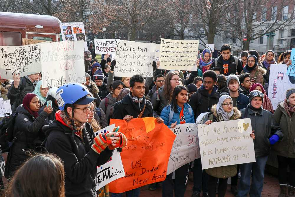 Photo+Gallery%3A+Students+protest+so+called+%27Muslim+ban%27