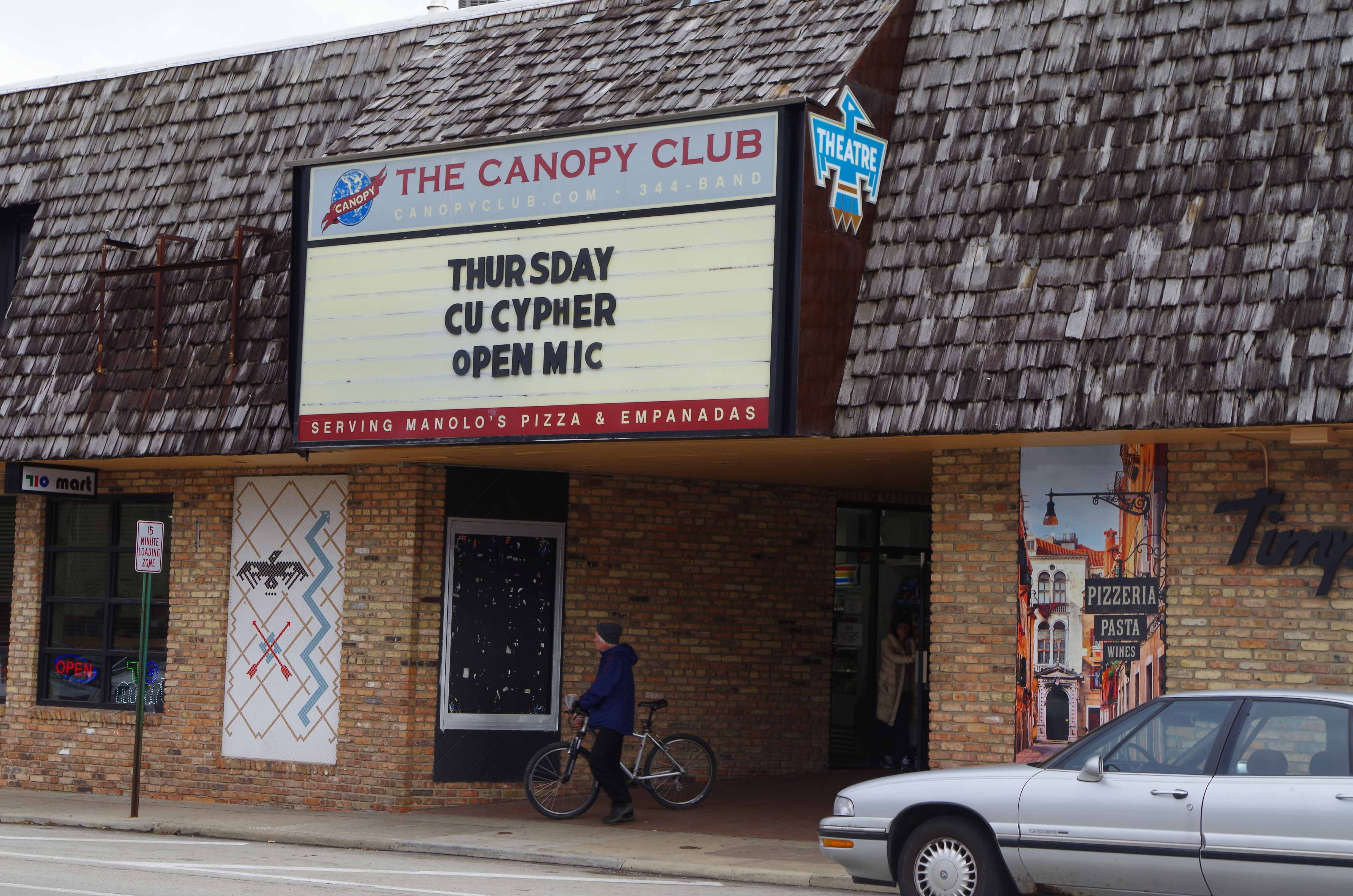 The C-U Open Invite Cypher will take place at Canopy Club in Urbana on Thursday, Jan. 19th. It is an open mic night for local rappers.
