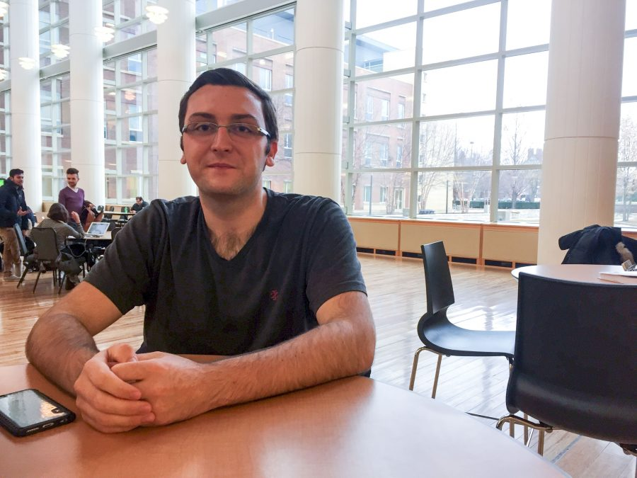 Brian Kobiernicki, junior, thinks condensing his major's name from Information Systems/Information Technology to Information Systems will help define the program. The name is just one change in a program that is constantly evolving.