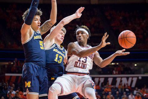 Photo Gallery: Illini Basketball vs Michigan