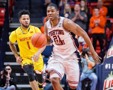 Photo Gallery: Illini basketball vs Maryland