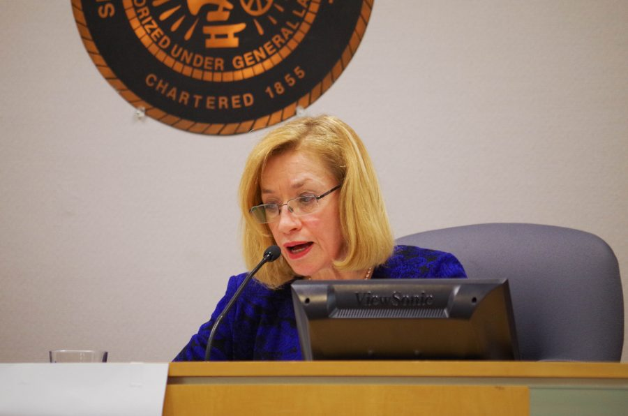 Laurel Prussing, the mayor of Urbana.