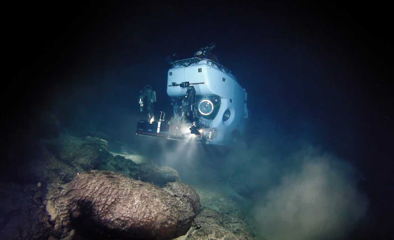 Photos and video taken from DSV Alvin using WHOI MISO Facility deep-sea camera systems and Alvin cameras.