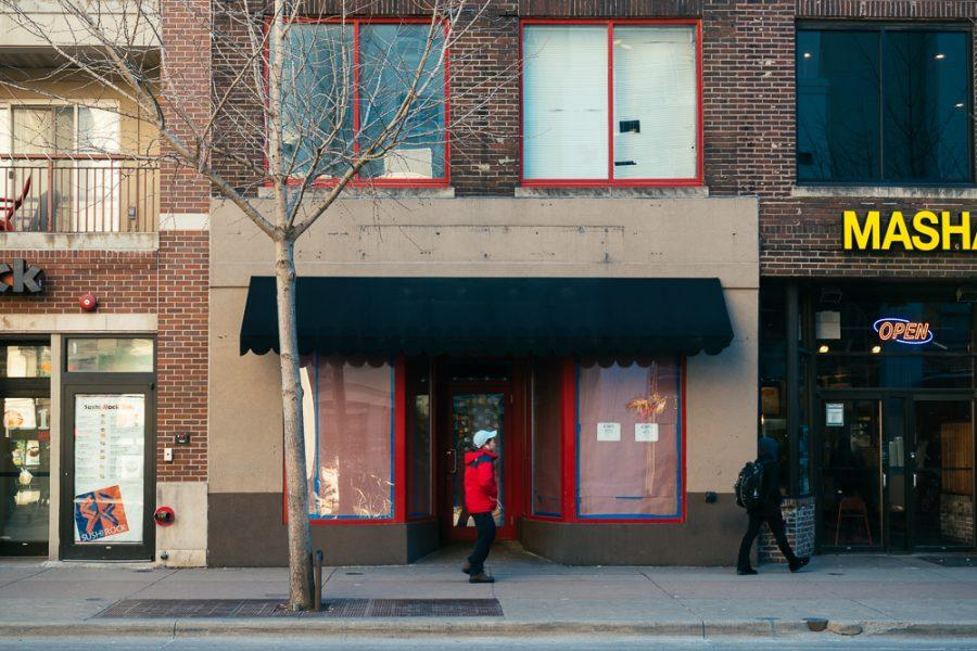 Former location of Antonios Pizza on Green St.