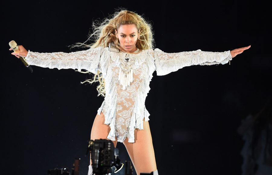 Beyonce performs during the Formation World Tour at Dodger Stadium on Wednesday, Sept. 14, 2016, in Los Angeles.