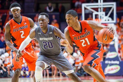 Photo Gallery: Illini basketball vs. Northwestern
