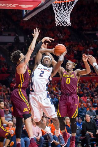 Nichols' first half was a taste of future of Illinois basketball