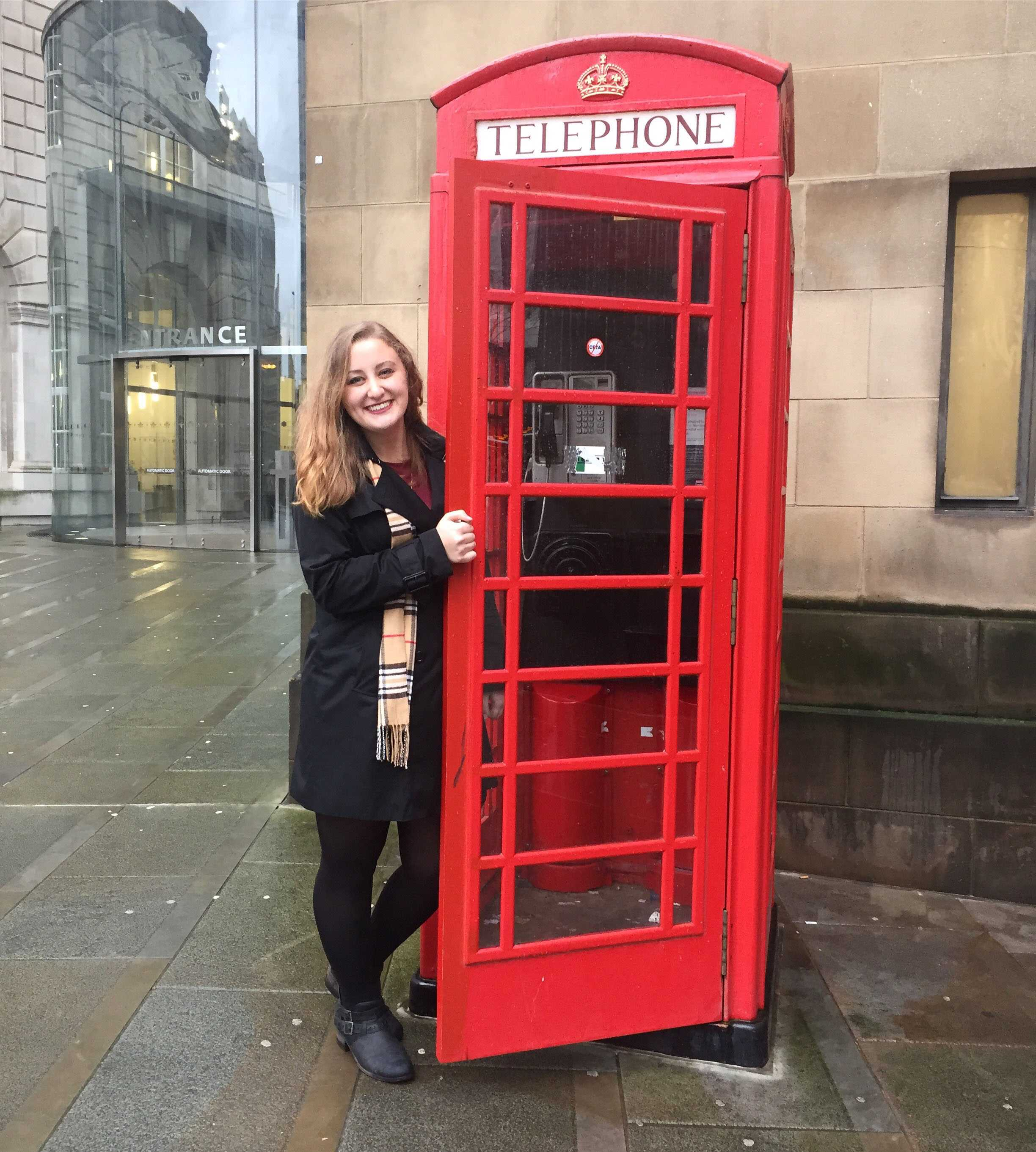 Isabella Jackson traveled to London, England during her semester studying abroad in Europe.