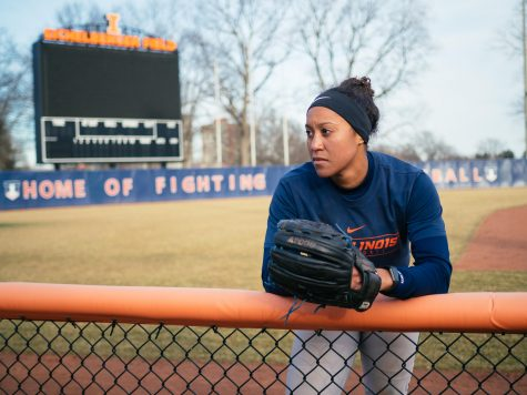 From California, Oestreich finds her home with Illinois softball