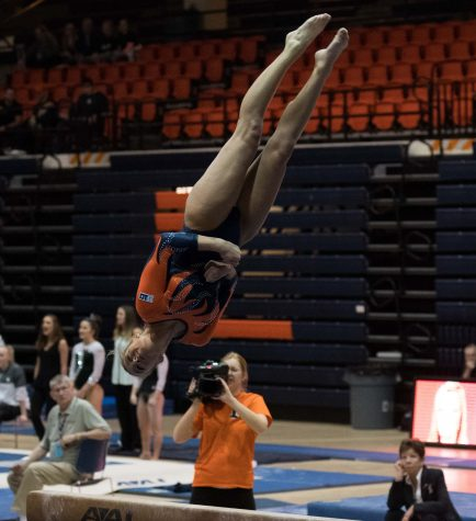 Illinois women's gymnastics look for victory at State Farm Center