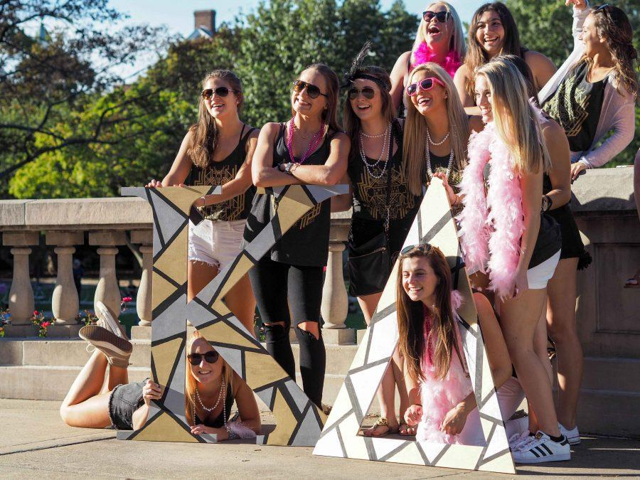 Living with sorority sisters or fraternity brothers and sharing activities fosters friendships.