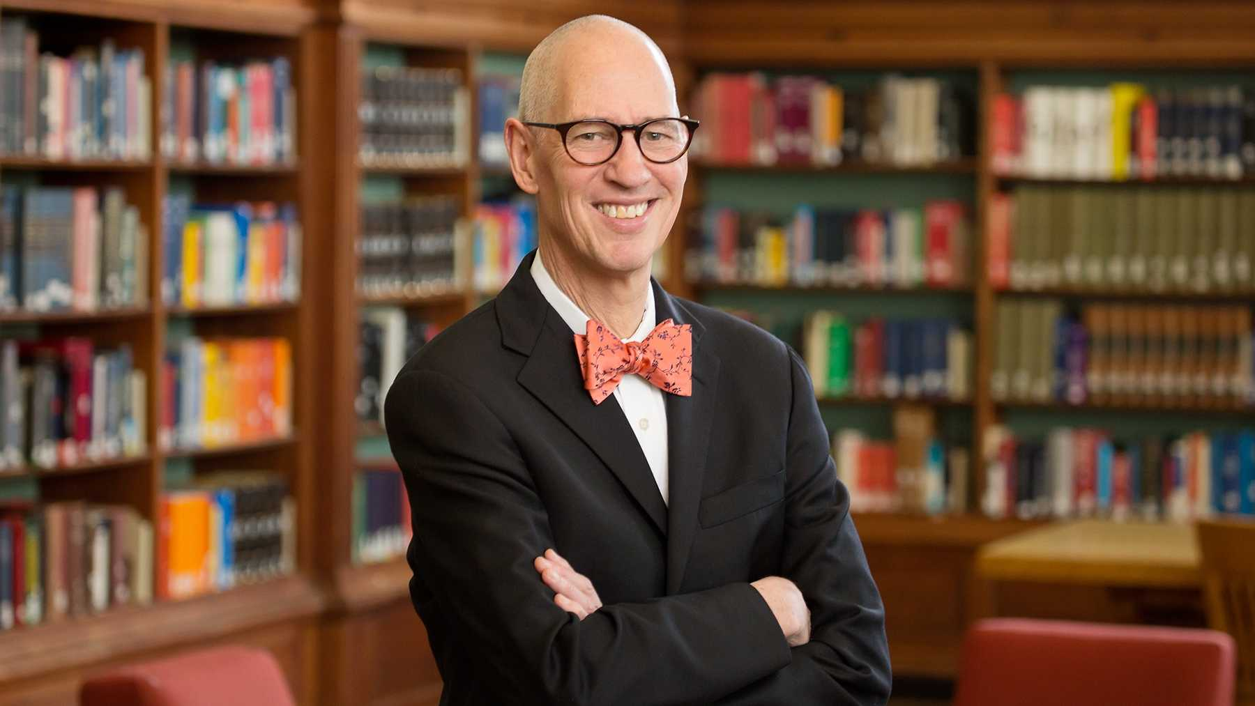 John Wilkin - Juanita J. and Robert E. Simpson  Dean of Libraries and University Librarian - is named interim vice chancellor for academic affairs and provost.