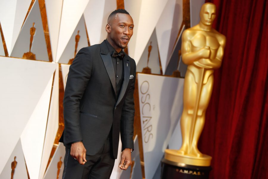 Mahershala Ali arrives at the 89th Academy Awards on Sunday, Feb. 26, 2017, at the Dolby Theatre at Hollywood & Highland Center in Hollywood. (Jay L. Clendenin/Los Angeles Times/TNS)