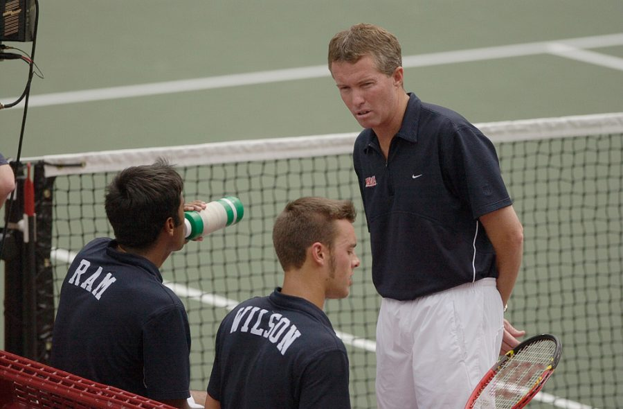 Former+Illini+tennis+head+coach+Craig+Tiley+was+recently+inducted+into+the+the+inaugural+class+of+the+Illinois+athletics+Hall+of+Fame+for+revitalizing+the+team+and+making+it+a+national+contender.+