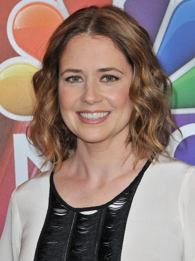 Jenna Fischer arrives at the 2016 NBCUniversal Press Tour on Jan. 13, 2016 in Pasadena, Calif. (Photo By Sthanlee B. Mirador/Sipa USA/TNS)