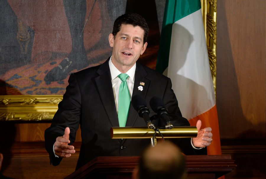 House+Speaker+Paul+Ryan+speaks+during+the+Friends+of+Ireland+Luncheon+at+the+U.S.+Capitol+on+March+16%2C+2017+in+Washington%2C+D.C.+
