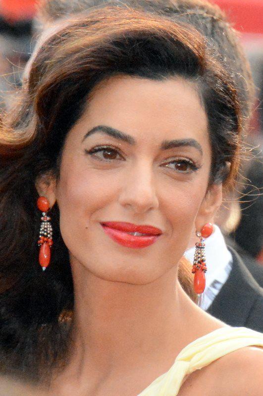 Portrait+of+Amal+Clooney.