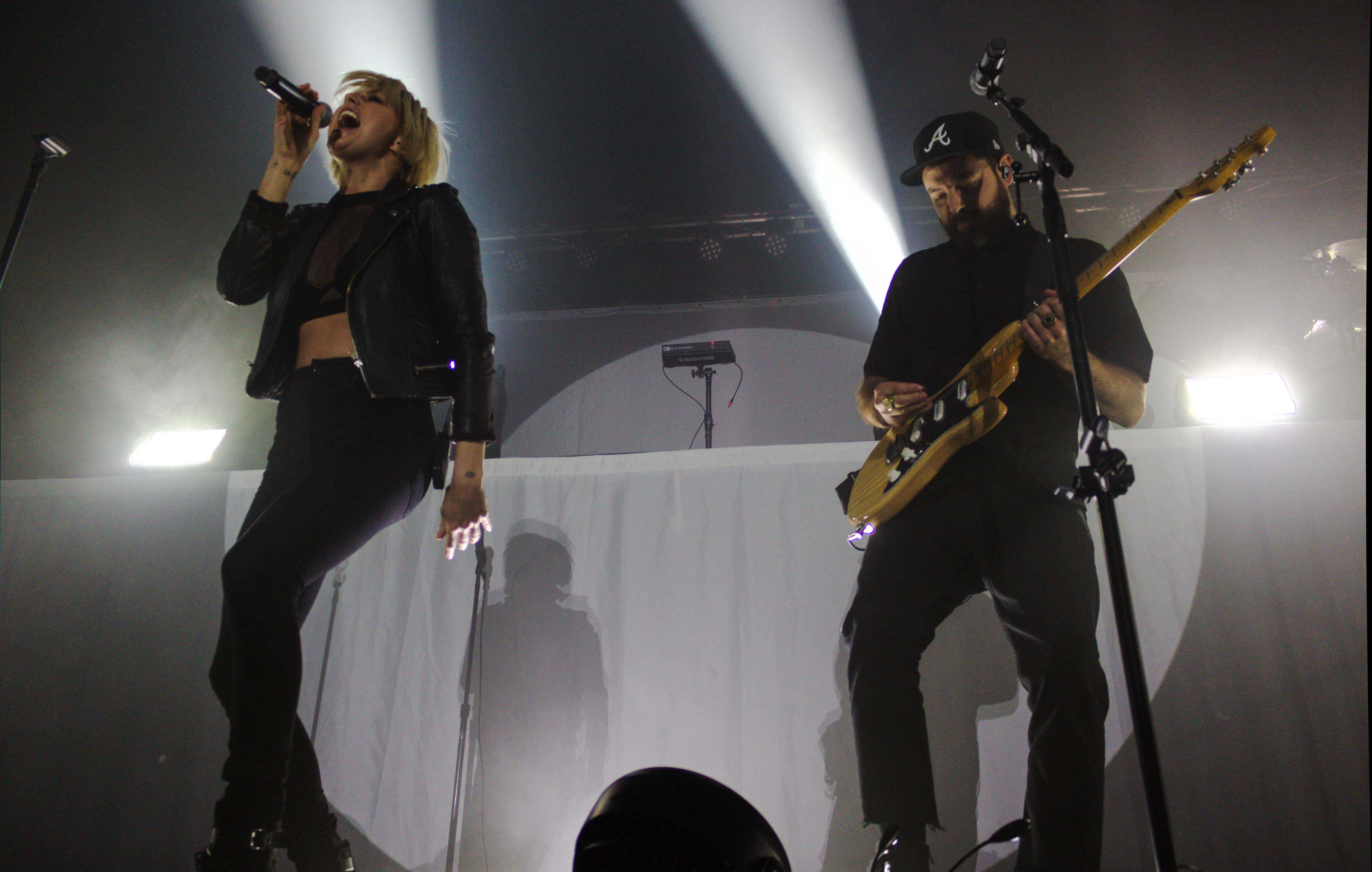 The electro-pop music group Phantogram performed at the Canopy Club on March 14th, 2017.