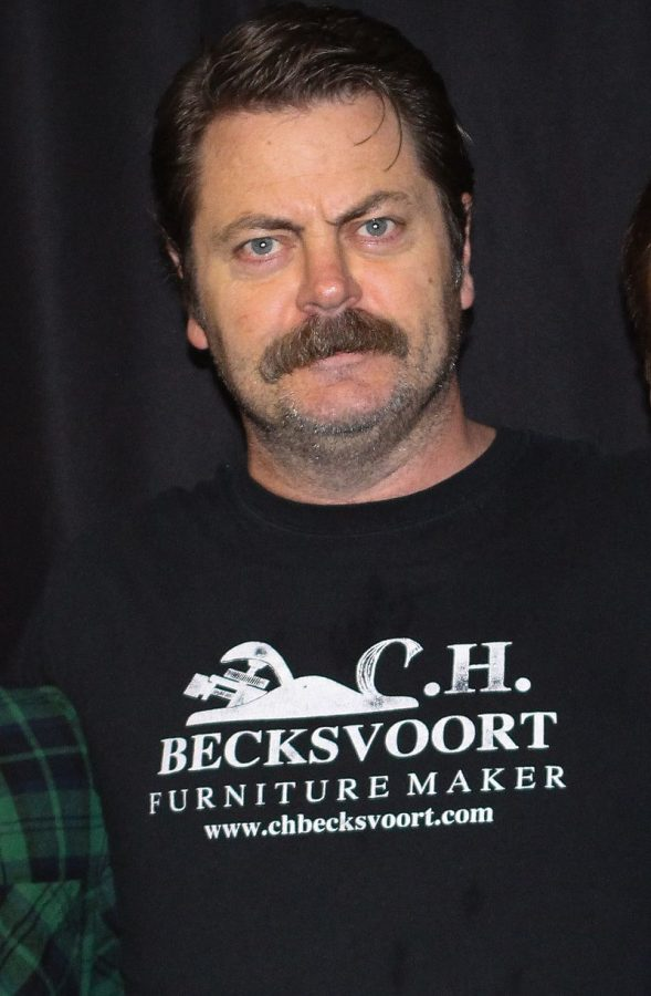 Nick+Offerman+will+be+visiting+campus+to+participate+in+the+Japan+House+fundraiser+on+April+1st.+