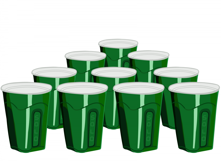 Beer pong game: 21 years of Unofficial and 21 years of Illini Sports