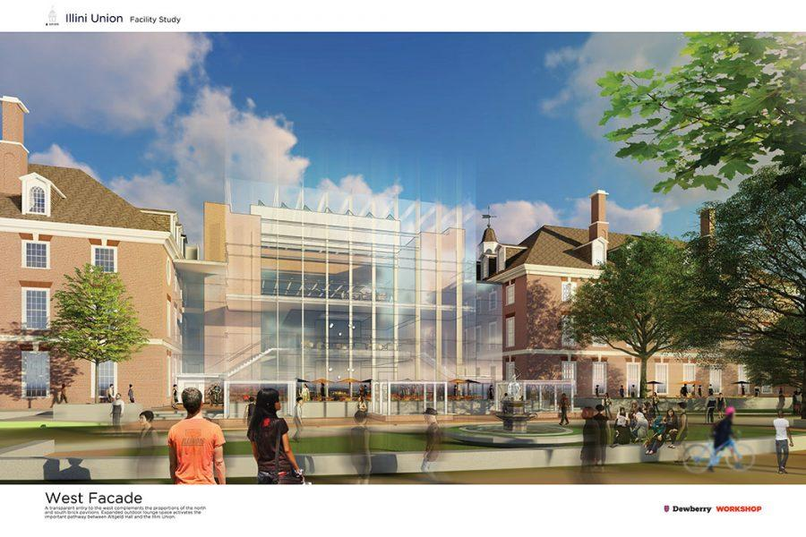 The+plans+for+the+Illini+Union+Renovation.+