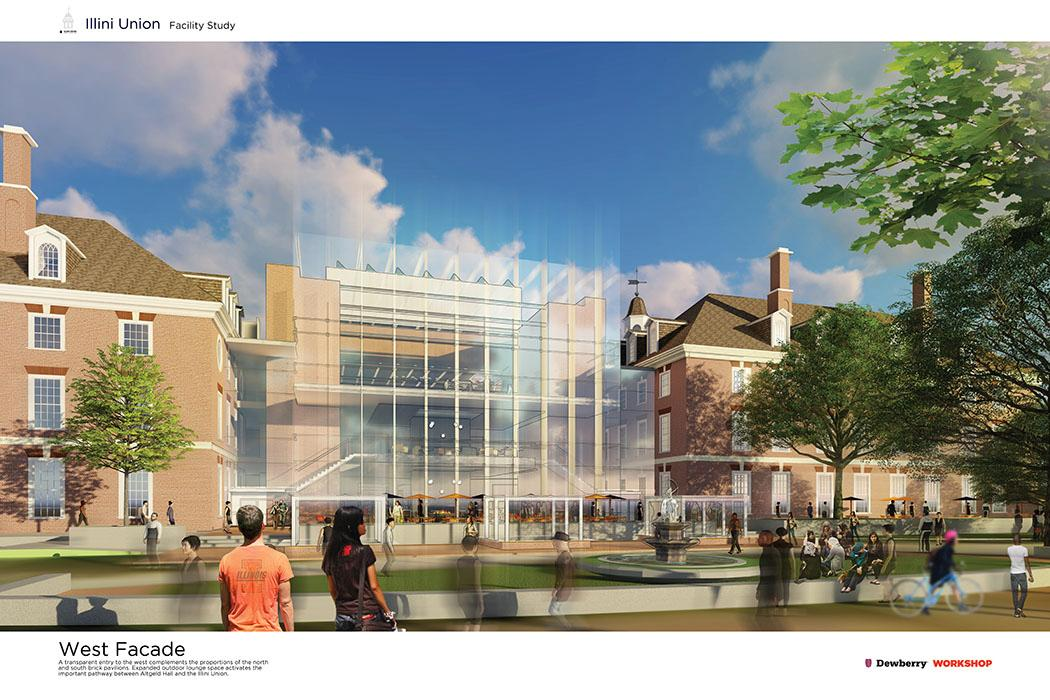 The plans for the Illini Union Renovation.
