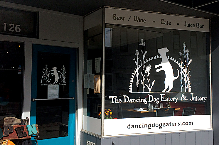 The Dancing Dog Eatery & Juicery offers brunch, is all-vegan and has options for people with wheat allergies.