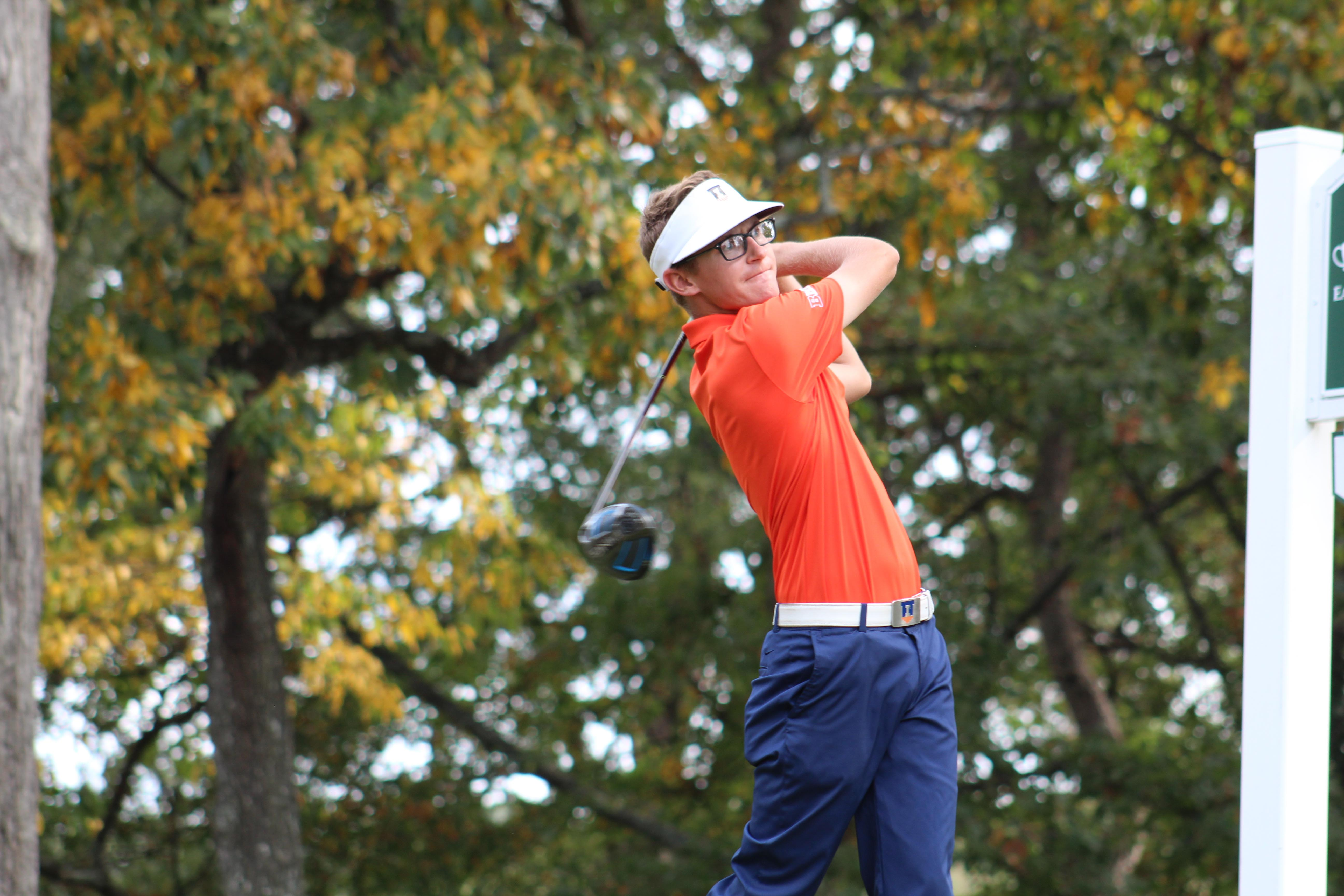 Junior Dylan Meyer's individual title win at the 3 a.m. Augusta Invitational was not enough for an Illini first-place finish this past weekend.