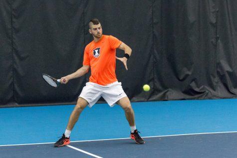 Illinois men's tennis team still has room to improve despite win