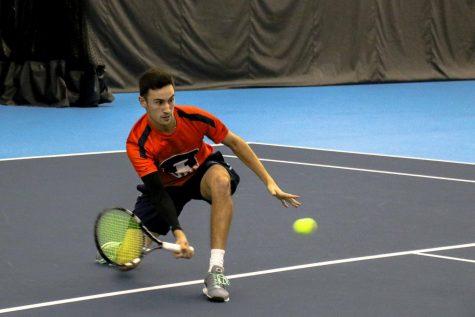 Illinois men's tennis team sets sights on Big Ten title