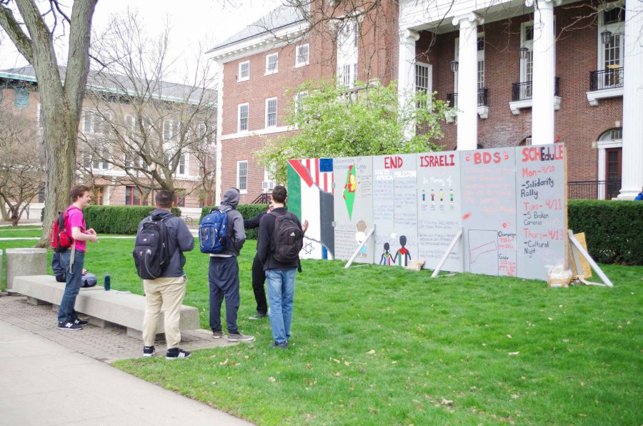 The Israeli Apartheid Week started Monday April 10th  and goes till Thursday April 13th. Columnist Hayley Nagelberg believes that there are important questions surrounding this event that all students should be able to participate in discussing.