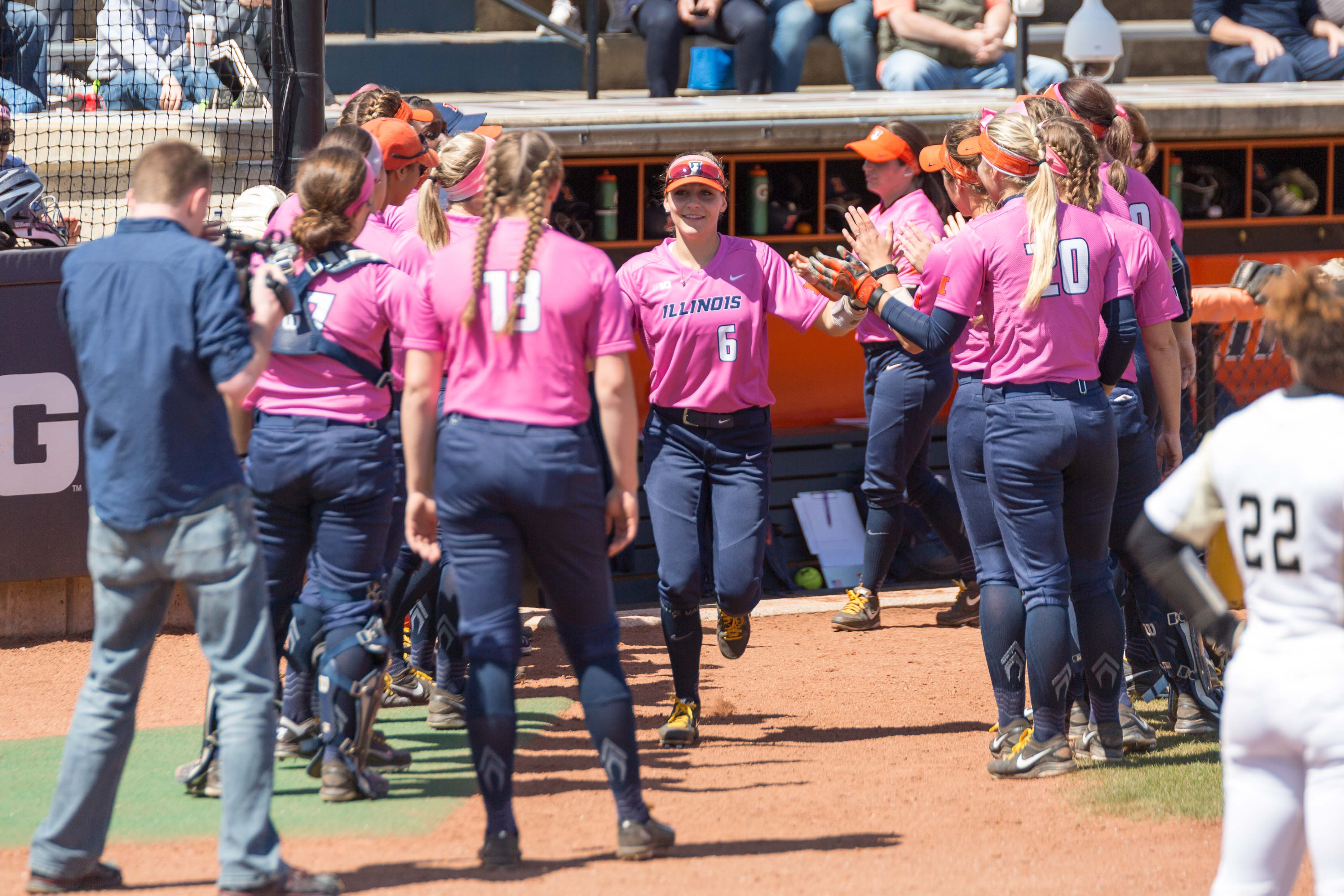 Illinois Athletics, Colleges Against Cancer, Illini Pride and the American Cancer Society will be hosting a cancer fundraiser on April 28 at Eichelberger Field. The fundraiser features various sports-themed activities for the purchase of a $5 ticket, which includes entry to the Illinois vs. Wisconsin softball game after the event.