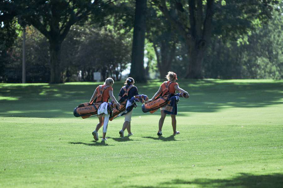 The+Illinois+women%27s+golf+team+will+head+to+Cincinnati+this+weekend+for+the+Big+Ten+championship.+