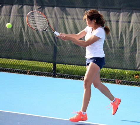 Women's tennis falls to Ohio State in Big Ten tournament semis