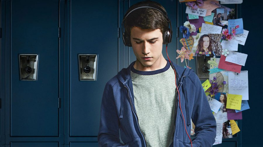 Dylan+Minnette+in+13+Reasons+Why+on+Netflix.+Columnist+Jamie+Linton+thinks+the+show+has+some+major+flaws+in+how+it+addresses+suicide.+