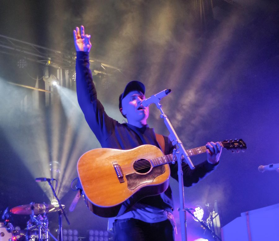 Mike Posner and The Legendary Mike Posner Band with Adam Friedman performed at The Canopy Club on April 23. He told the audience to get to know the people around them during the concert because it's beautiful to be a part of something bigger than yourselves.