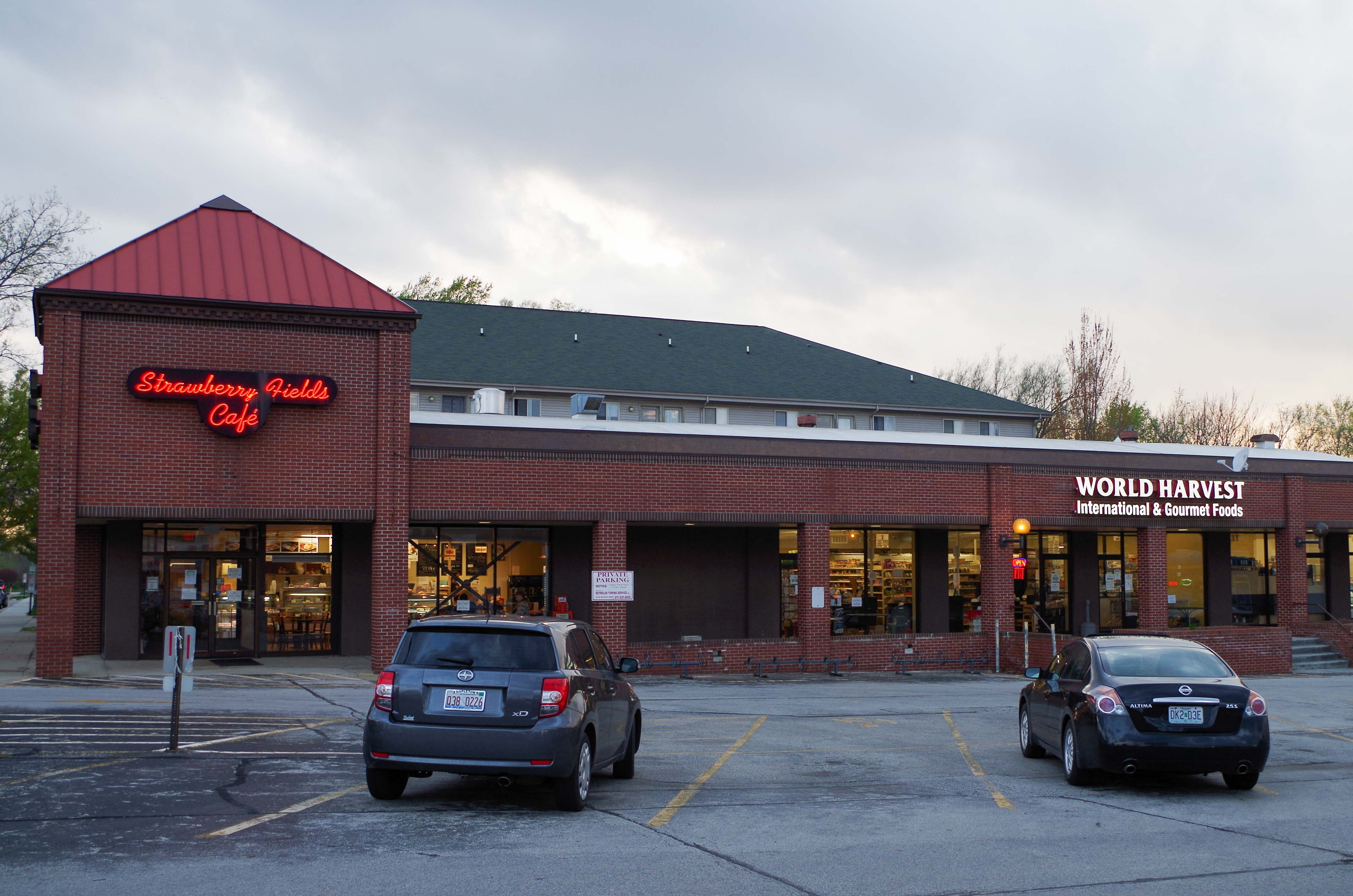 Strawberry Fields Cafe and World Market International & Gourmet are now located in the same building at 306 W. Springfield Ave. in Urbana, making it easier for locals to buy their food.