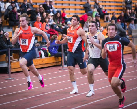 Men's track takes second place at Redbird Invite, prepares to head west