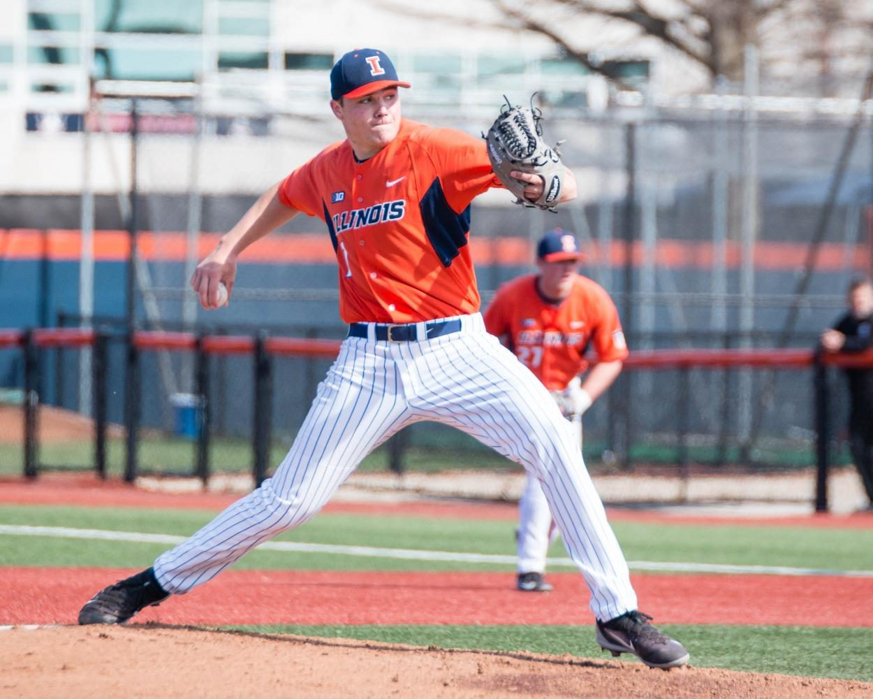 Illini plays against Indiana State on April 5.