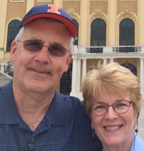 Van and Kathy Bowersox, Champaign natives, have been avid Ebertfest-goers since 2011. They think of the experience as a
