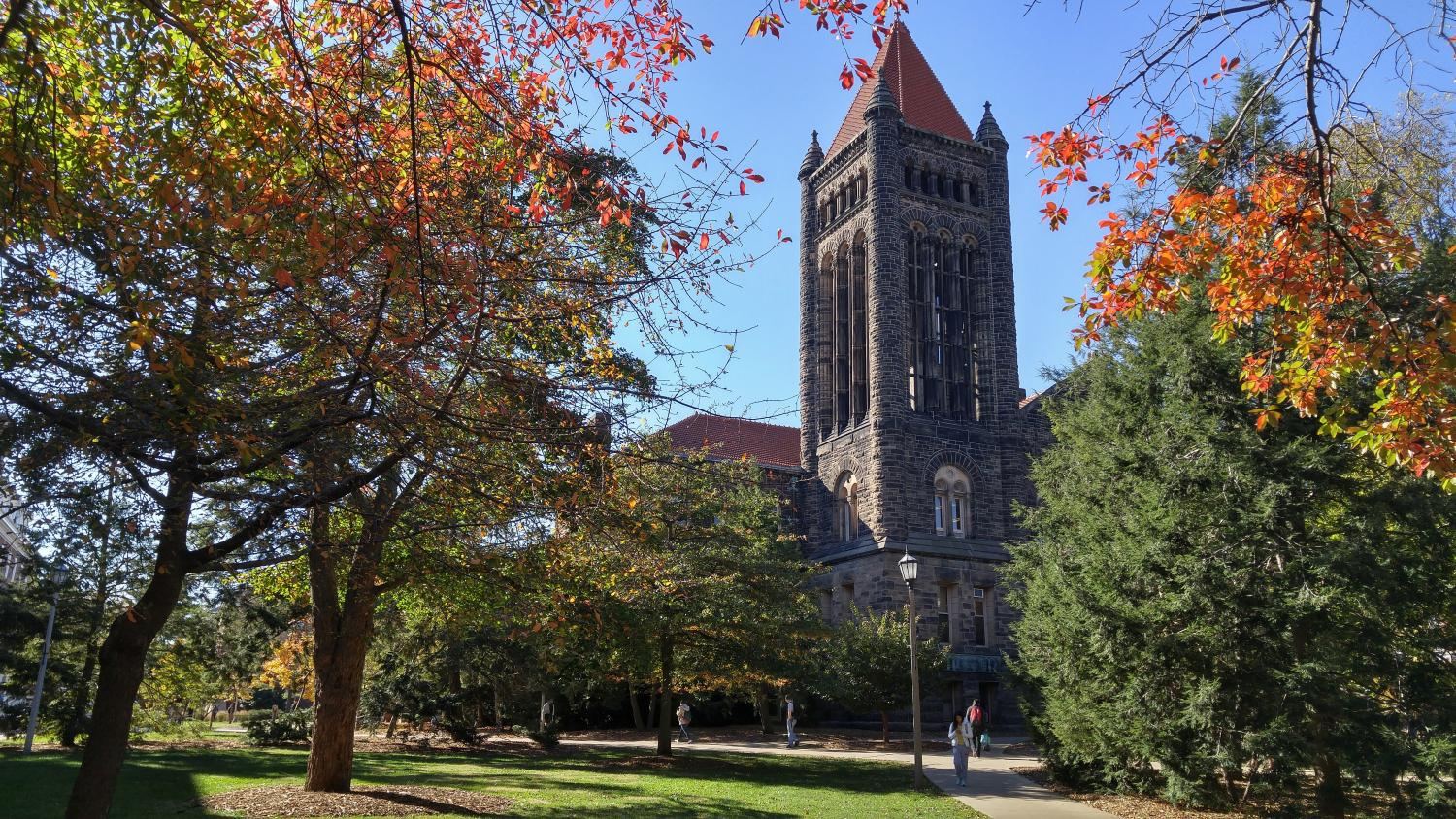 Workers are repairing the Altgeld Bell Tower. After being dismissed, many chimes players are not sure they'll come back.