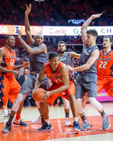 Greg Eboigbodin signs with Illinois basketball