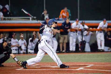 Illinois baseball walks off to win game and series agianst No. 24 Maryland
