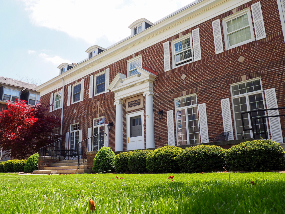 Alpha Chi Rho is a fraternity located in Champaign with several graduating seniors.