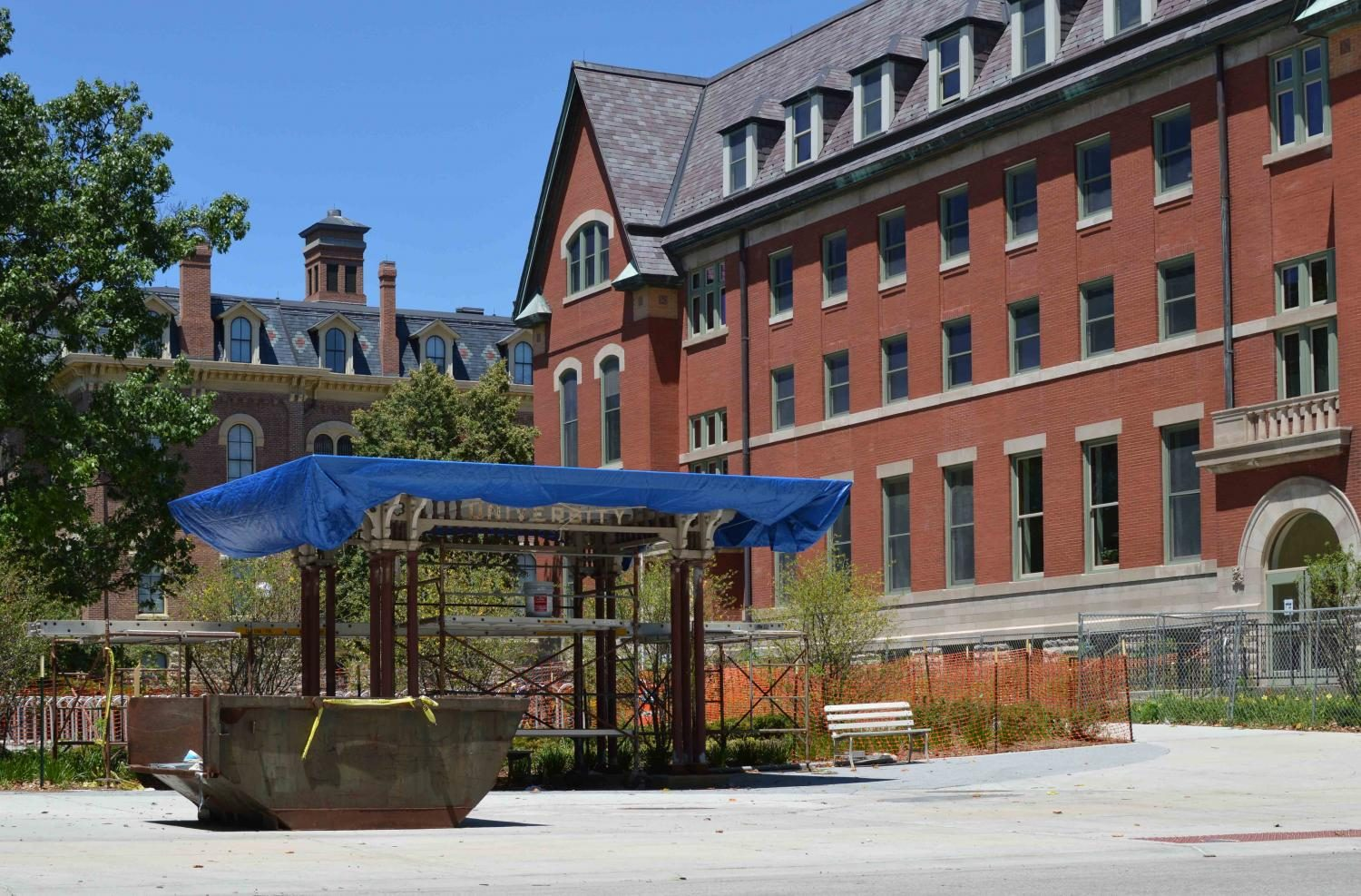 The Halfway House, once a campus staple, made its return with the completion of the National History Building.