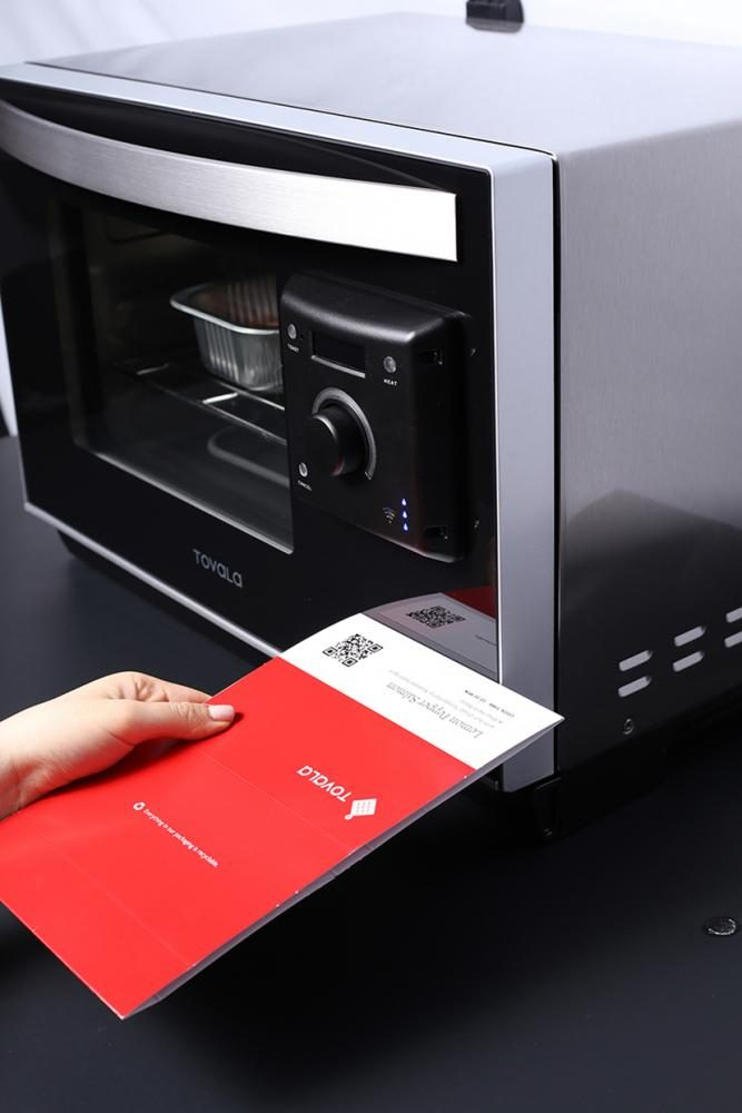 The+Tovala+Smart+Oven+launched+on+Tuesday%2C+allowing+for+easily+accessible+meals.+Five+University+alumni+are+on+the+team+that+is+producing+the+oven.+